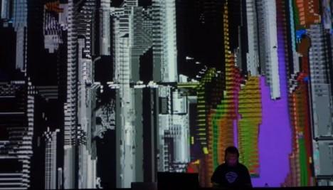 synthetic paradise - AV performance  @ Radion LPM Live Performers Meeting - Amsterdam 2017