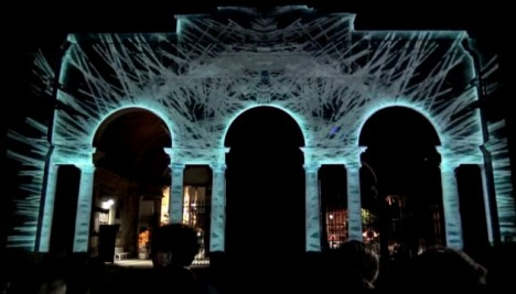 Live mapping contest / LPM 2018 Rome